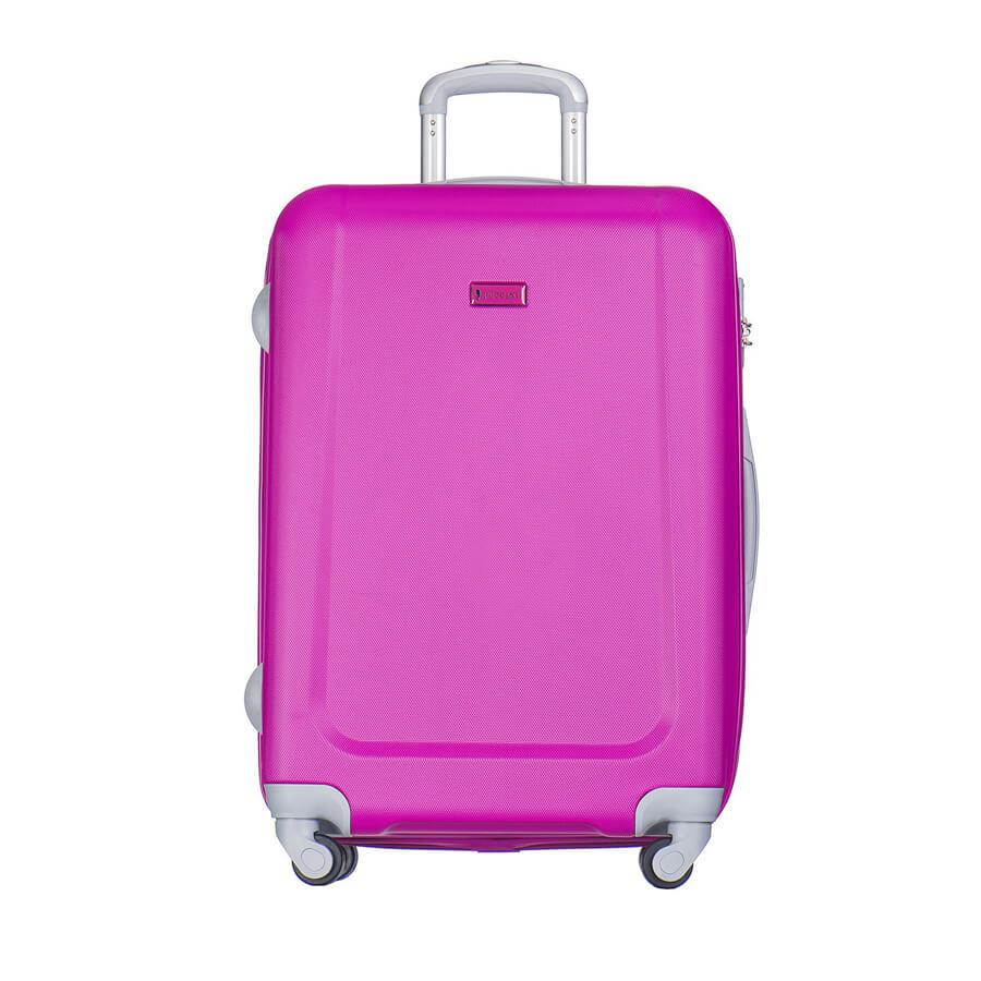 Walizka średnia Puccini Ibiza różowa