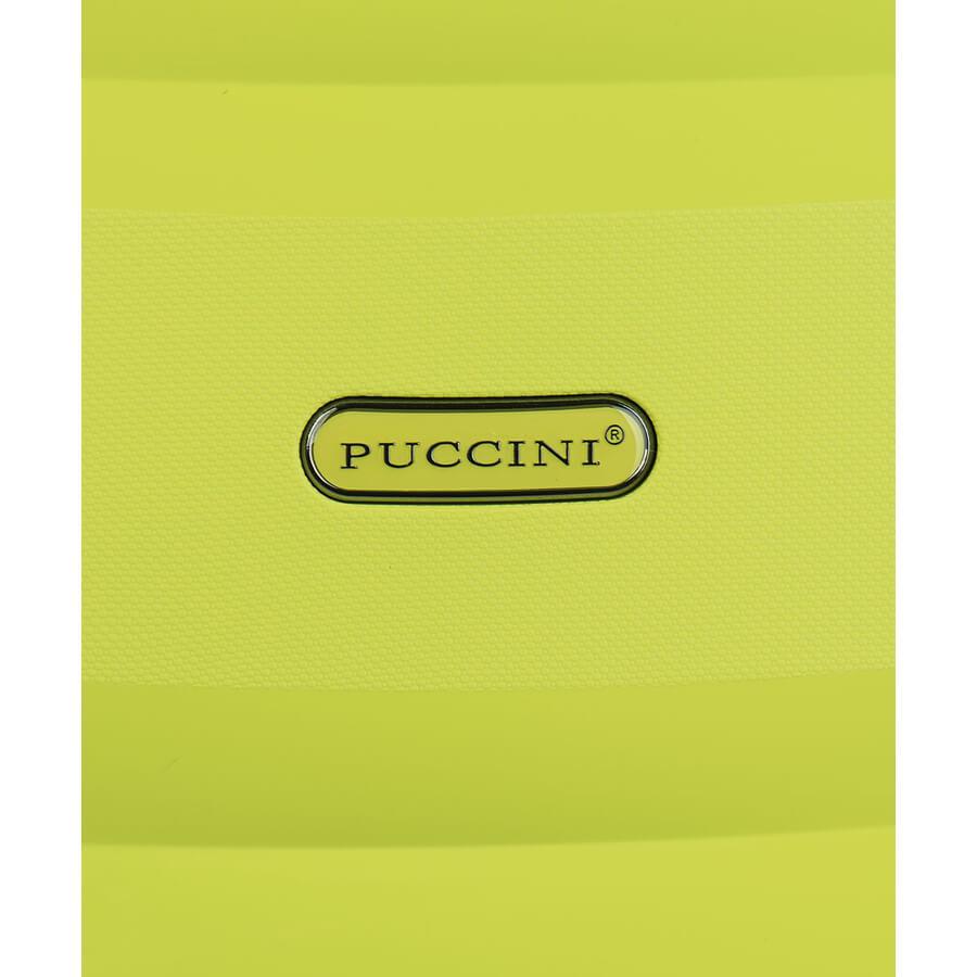 Walizka duża Puccini Acapulco limonka