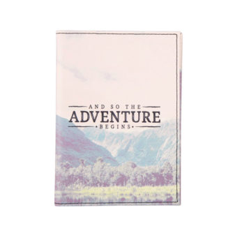 Etui na paszport i karty Adventure