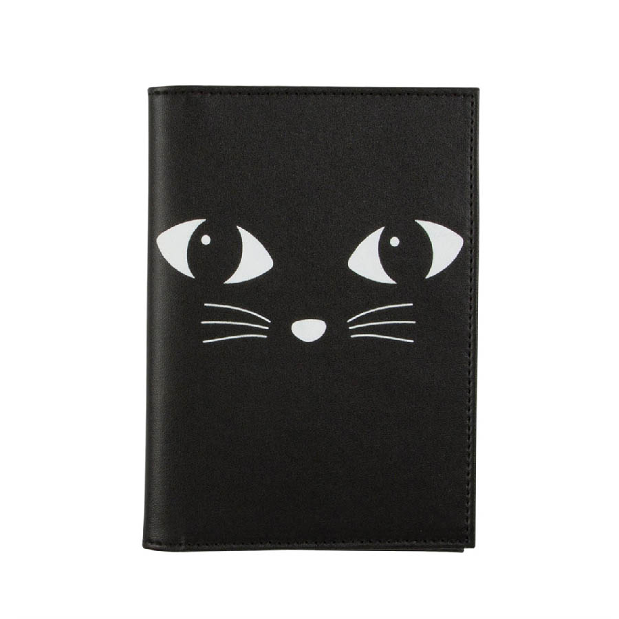 Etui na paszport i karty Black Cat