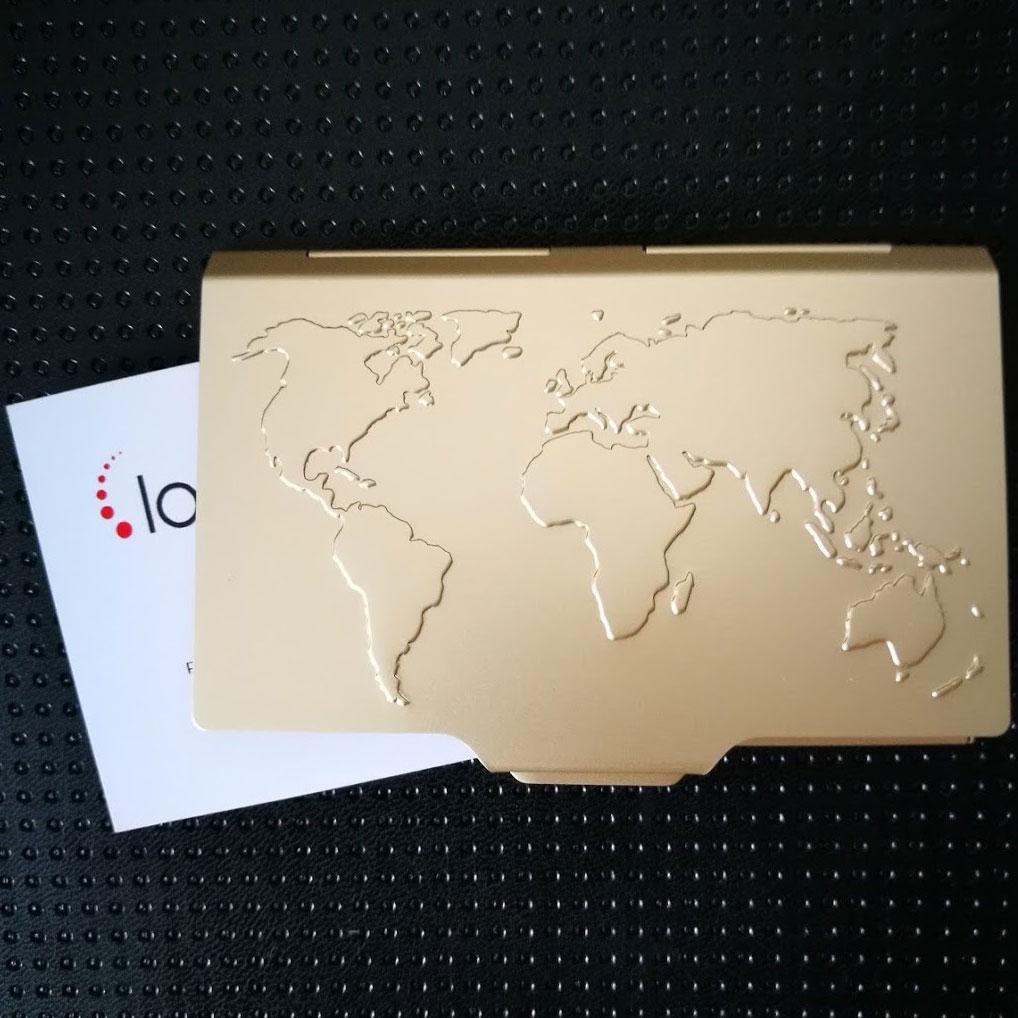 Wizytownik Troika mapa świata