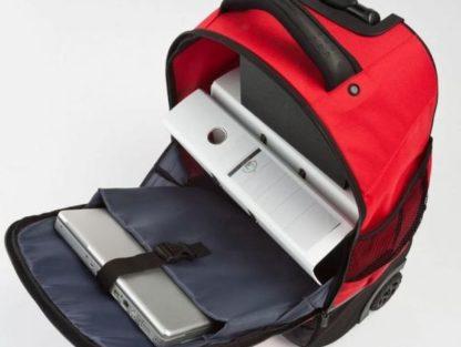 Plecak na kółkach Travelite Kick-Off pomarańczowy