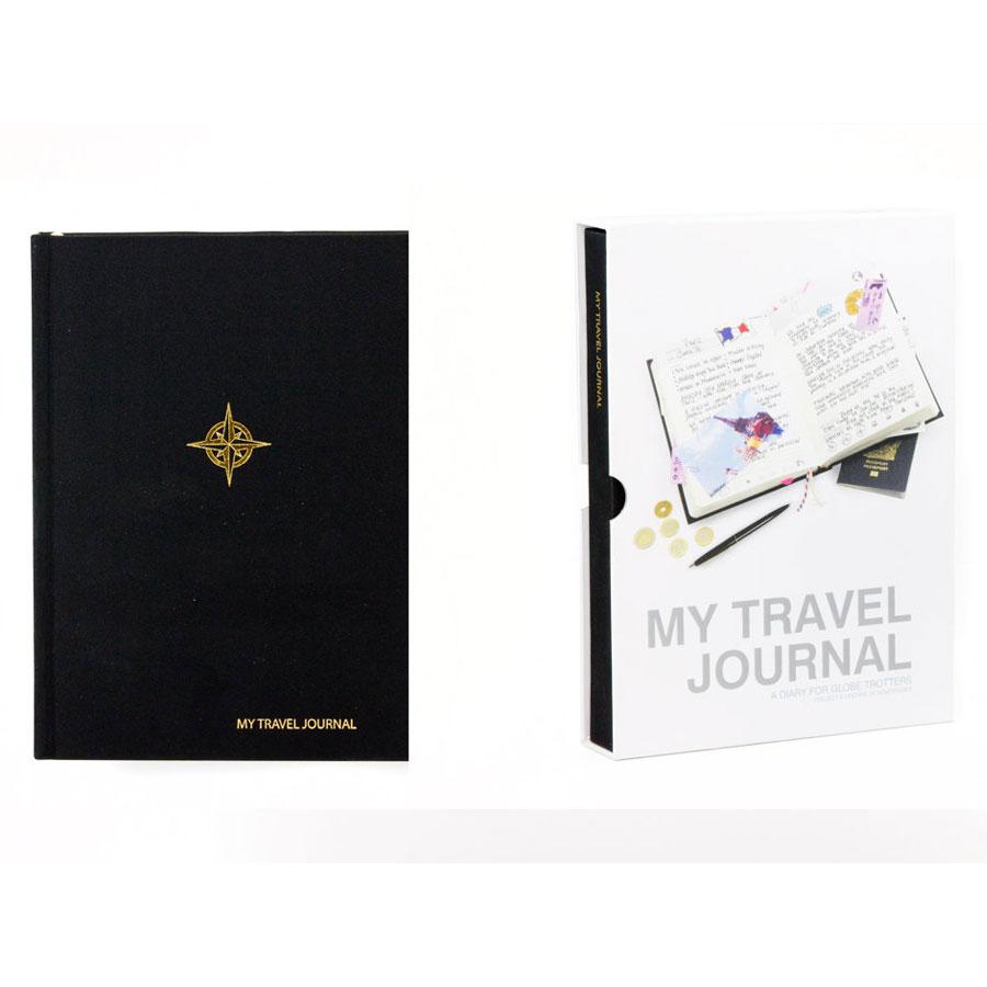 Dziennik podróżny - My Travel Journal - czarny