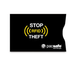 Etui na karty zbliżeniowe PacSafe z blokadą RFIDsleeve 25