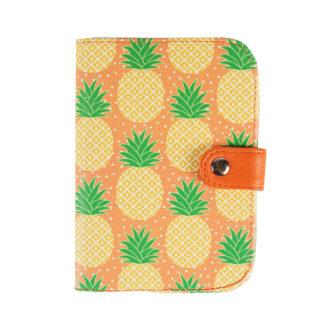 Etui na paszport ananasy