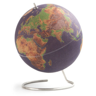 Korkowy globus podróżnika colors