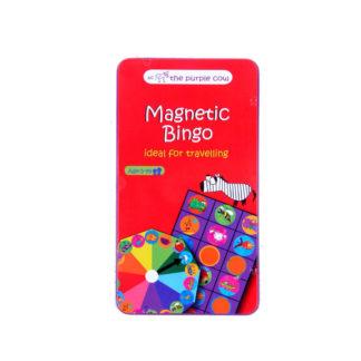 Podróżna gra magnetyczna Bingo The Purple Cow