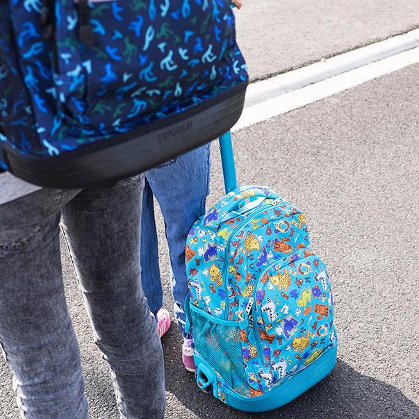Plecak na kółkach JWorld Sunny aniphabets