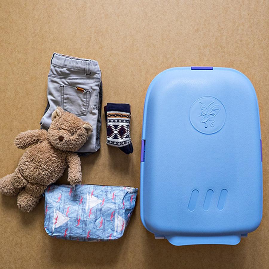 Walizka kabinowa dla dzieci Bubule Maya niebieska