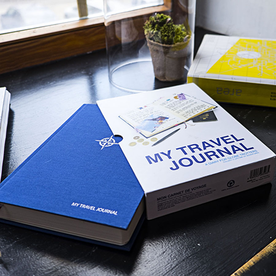 Dziennik podróżny - My Travel Journal