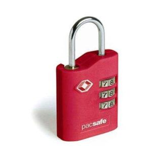 Kłódka do bagażu Pacsafe ProSafe 700 czerwona