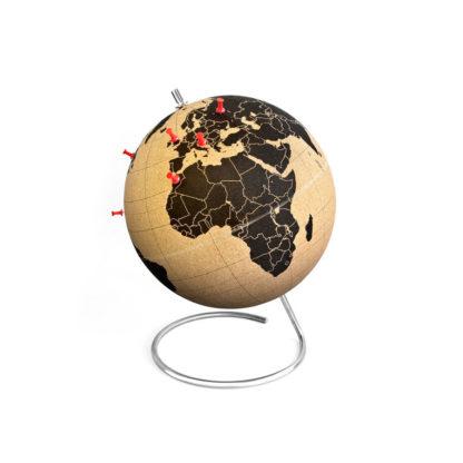 Korkowy globus podróżnika