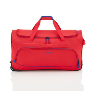 Torba podróżna na kółkach Travelite Basics Royal Red
