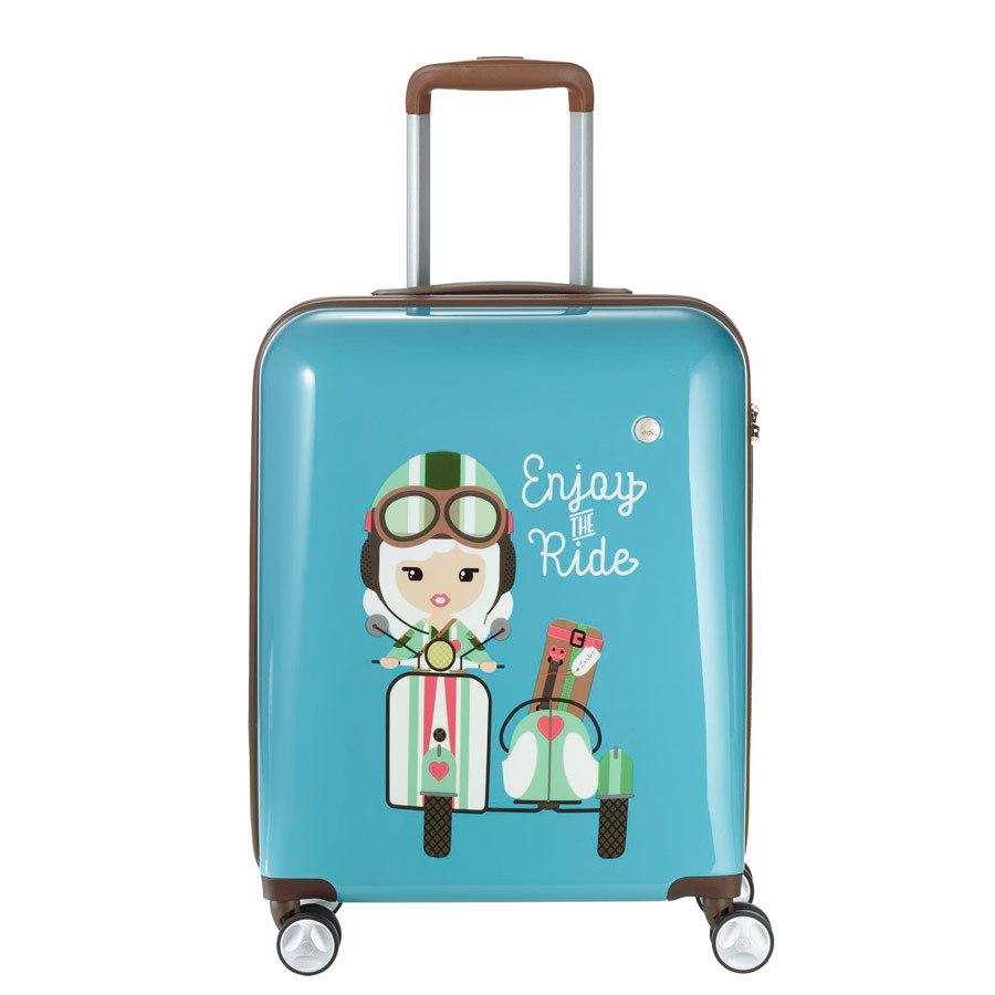 Walizka dla dzieci Travelite Lilledy S turkus